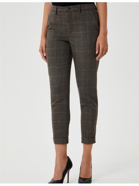 Pantalon à carreaux Liu Jo
