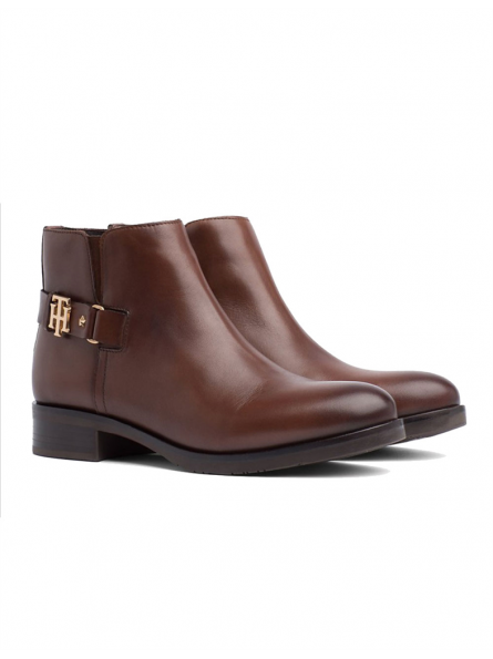 Boots cuir Tommy Hilfiger