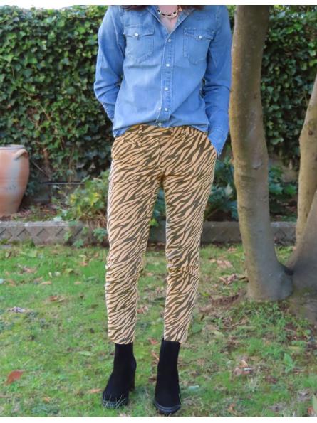 Pantalon zébré Mason's
