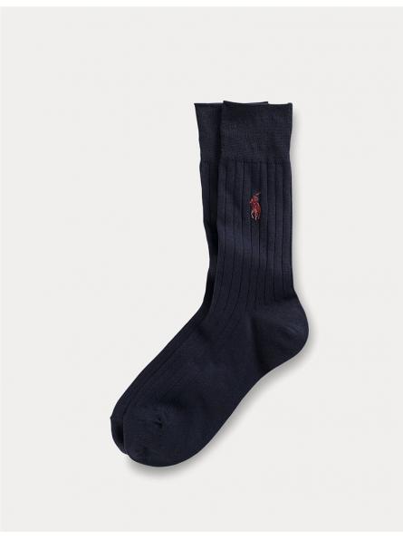 Une paire de chaussettes en coton égyptien Polo Ralph Lauren