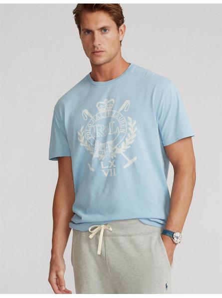 T-shirt manches courtes écusson Polo Ralph Lauren
