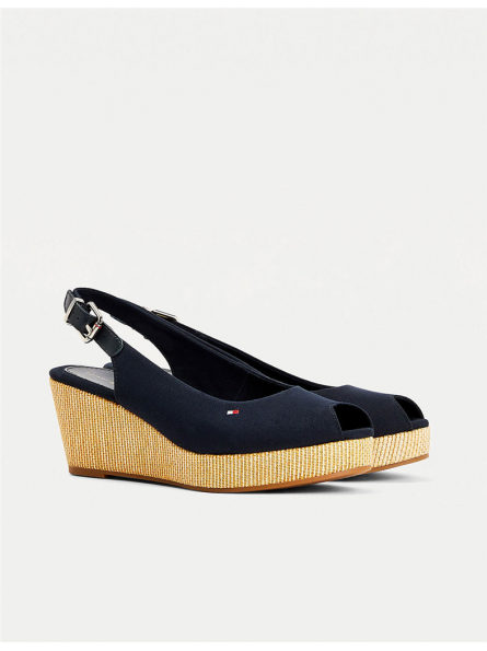 Chaussures ouvertes compensées Tommy Hilfiger