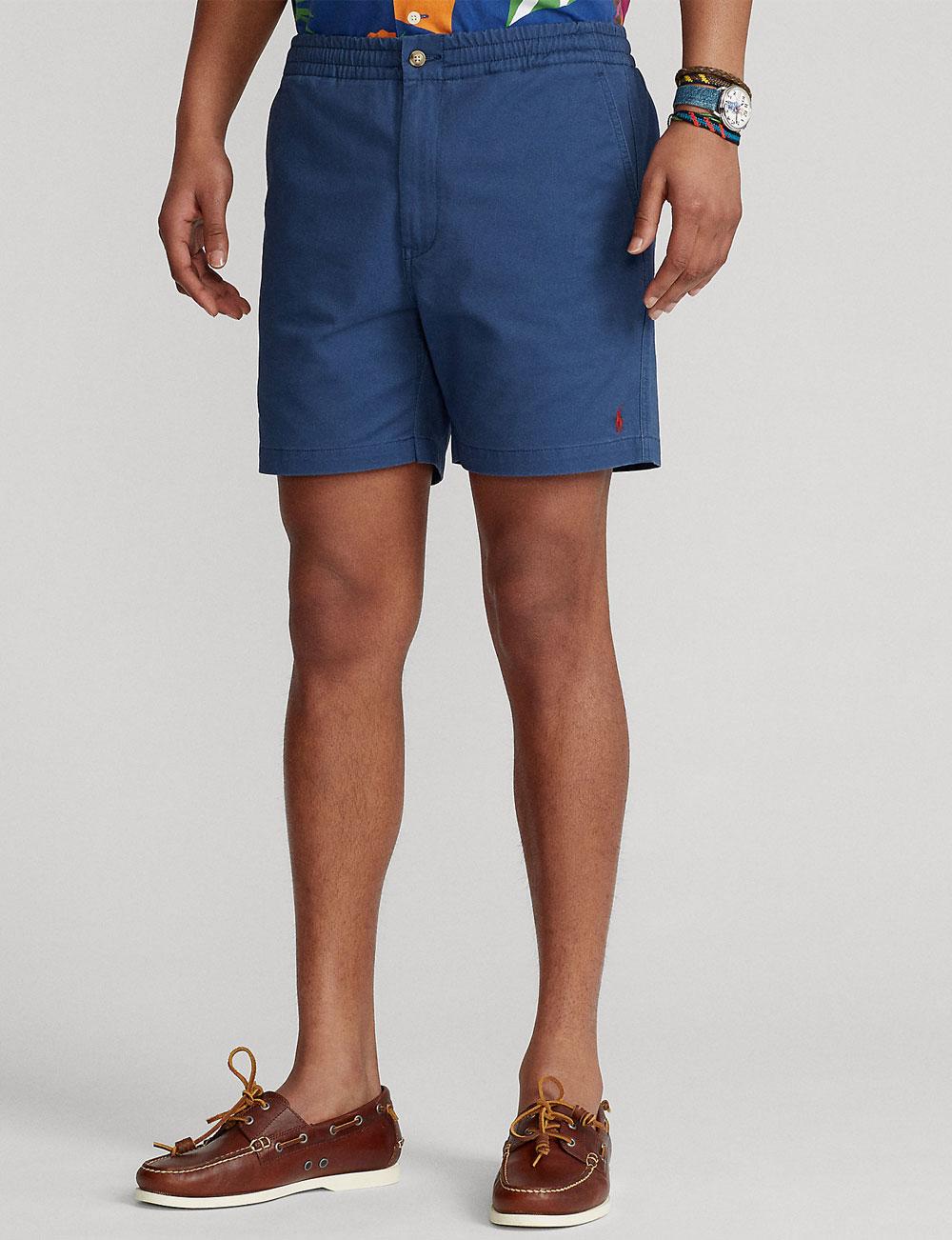 Fête des pères : short prepster bleu pour homme Polo Ralph Lauren