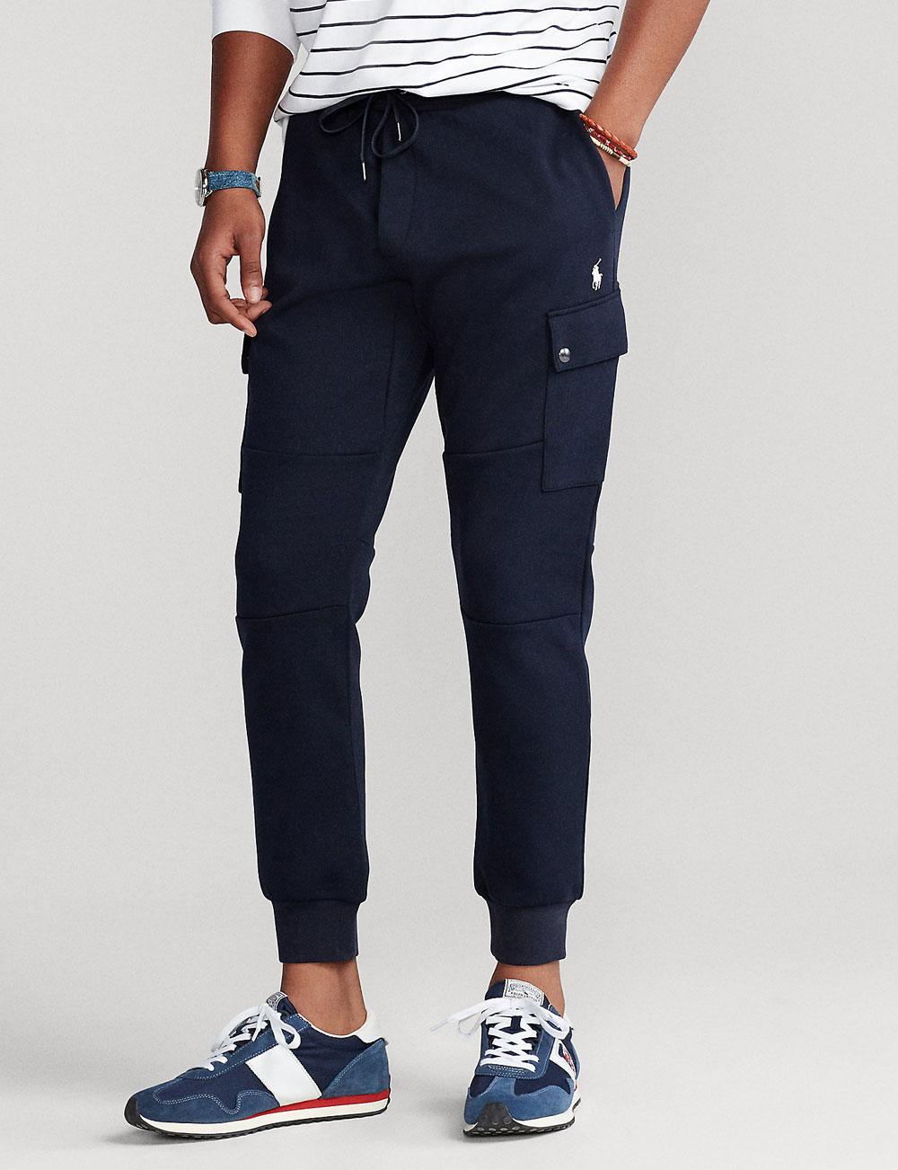 Fête des pères : pantalon de jogging cargo marine pour homme Polo Ralph Lauren