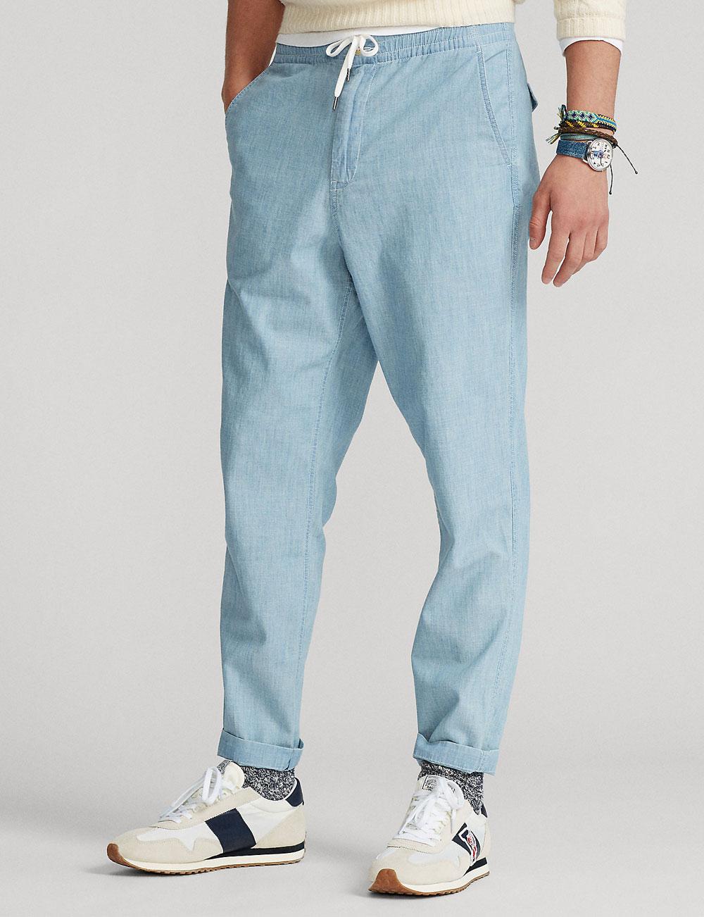 Fête des pères : pantalon Prepster en chambray pour homme Polo Ralph Lauren