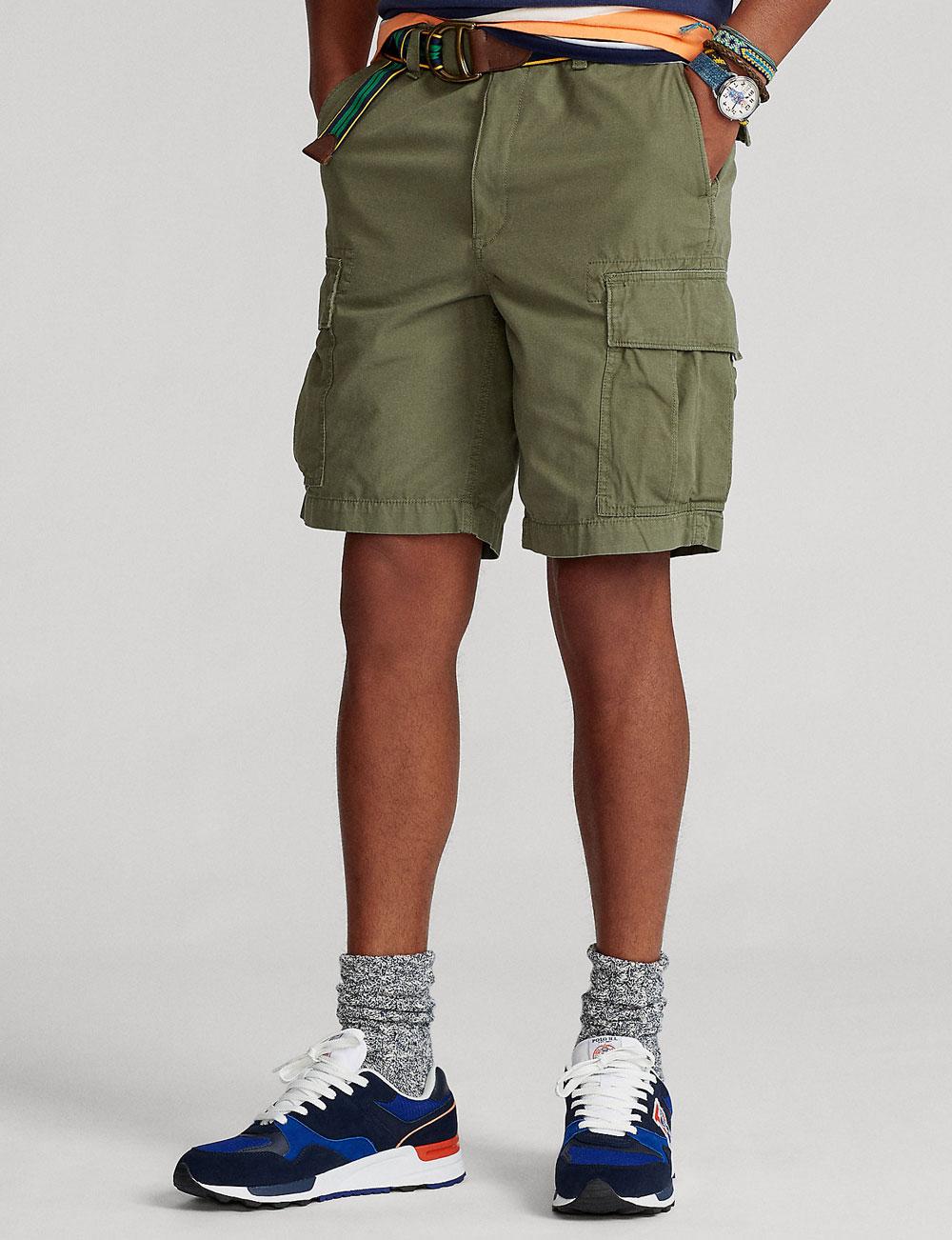 Short cargo kaki pour homme Polo Ralph Lauren