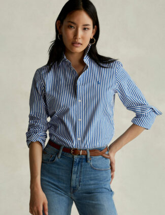 Chemise coupe relaxed fit femme ralph lauren
