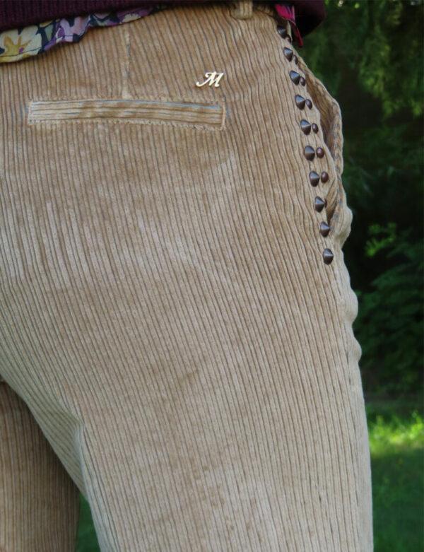 Pantalon velours côtelé large Mason's